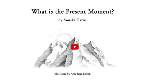 What is the Present Moment Intro illustration